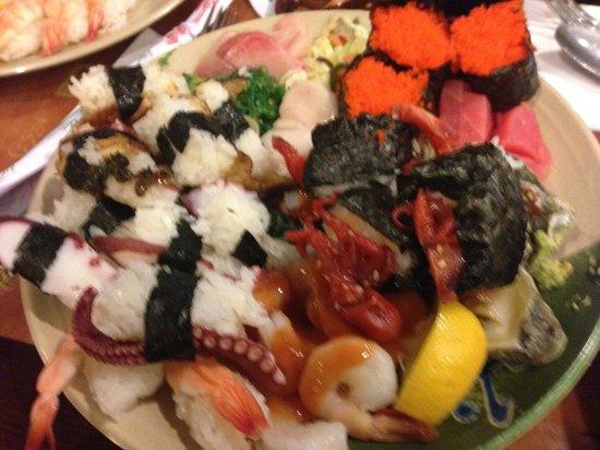 Shinju Japanese Buffet : My second plate