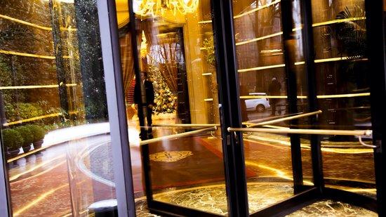 Hotel Principe Di Savoia : Ingresso