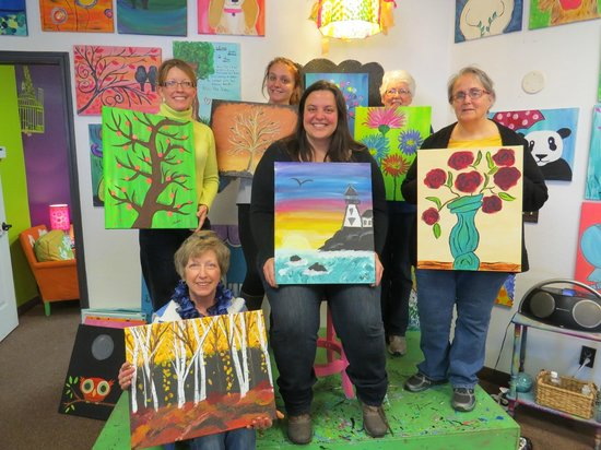 Paint the Town : Family Paint day!!