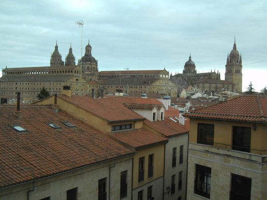 Hotel Abba Fonseca: View from Room 212 of Salamanca Cathedral