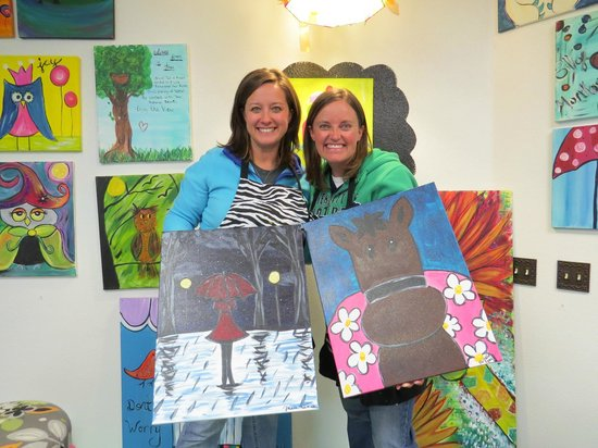 Paint the Town : Painting is a blast!