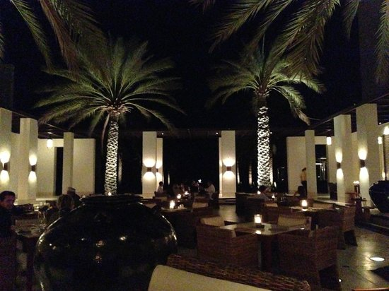 The Chedi Muscat – a GHM hotel: property at night