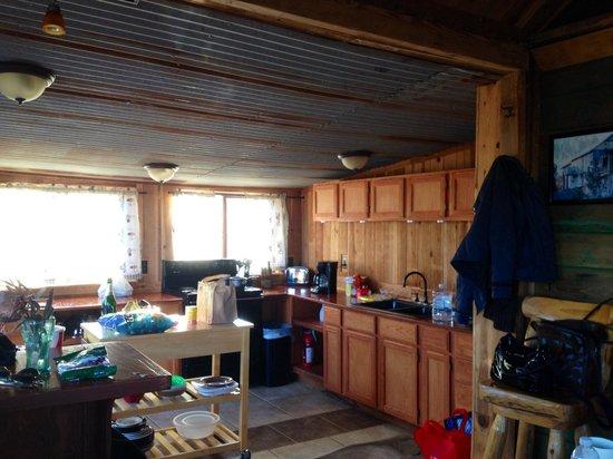 Goats Sky Ranch: Kitchen