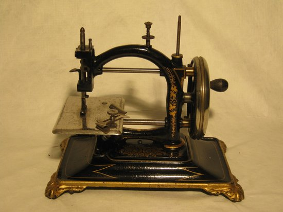 The Falconer Museum: A minature sewing machine from the collection
