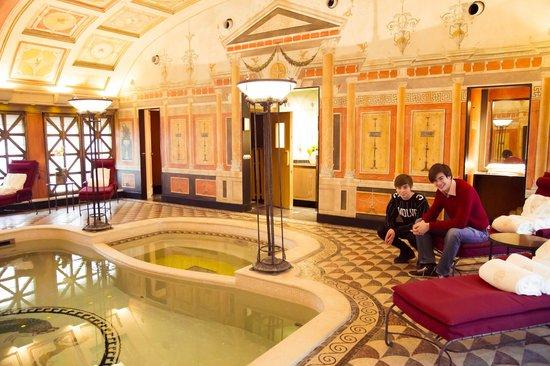 Suite presidenziale piscina privata picture of hotel - Hotel con piscina milano ...
