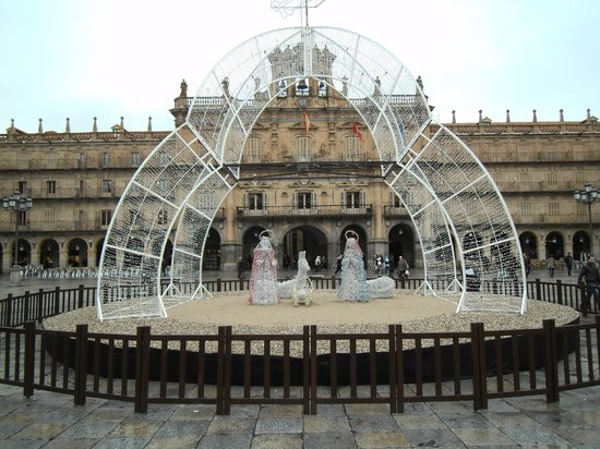 Abba Fonseca Hotel : Nativity in Plaza Mayor