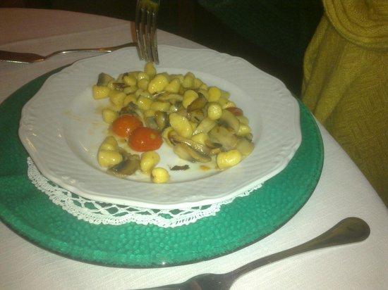 La Sirenetta: Gnocchi alle verdure