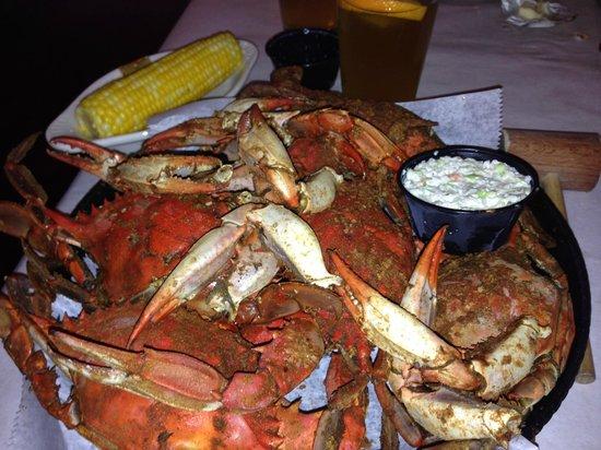 Riggin's Crab House: 1/2 dozen was all that was left