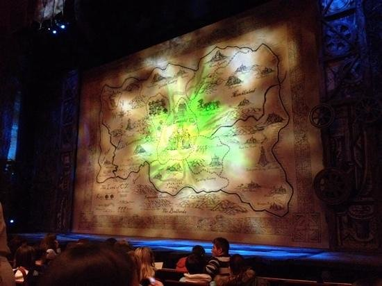 Bord Gáis Energy Theatre: waiting for the start of Wicked at The Bord Gais Theatre