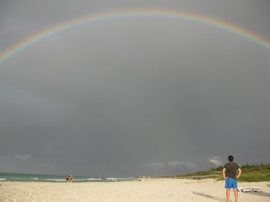 Blau Varadero Hotel Cuba: the most beautiful rainbow on the beach