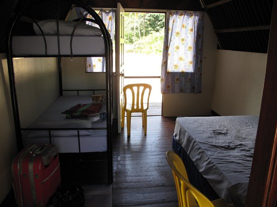 River View: Inside the river chalets