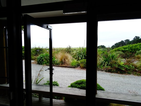 Beach Hideaway: The view from our living room -- out to the ocean!