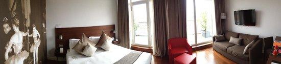 Hotel Milano Scala: Panorama of superior room