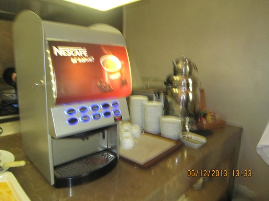 Ramada Istanbul Grand Bazaar : coffee machine..wish I have one