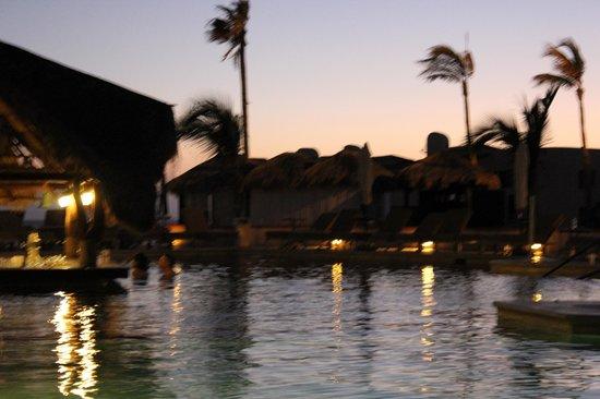 Solmar Resort: Pool at night