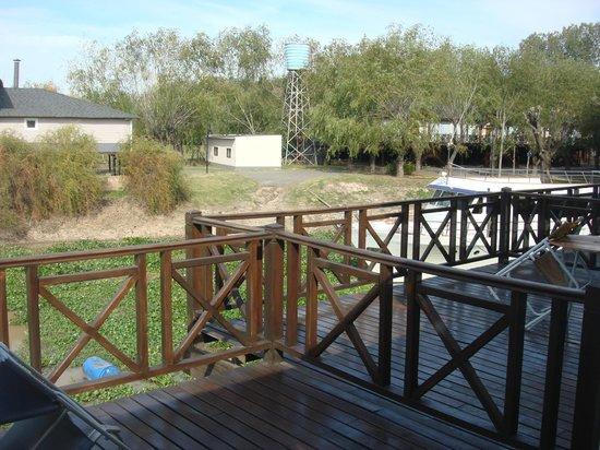 Howard Johnson Hotel & Marinas San Pedro Resort: Vista del balcon