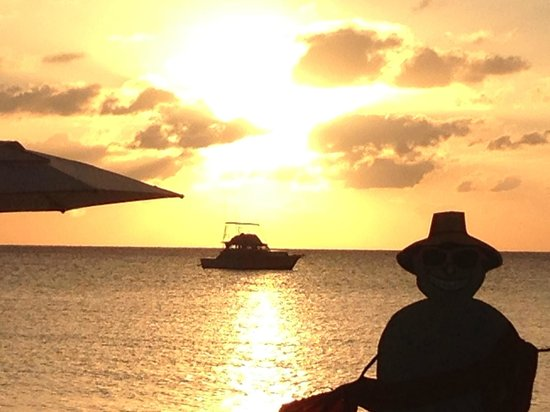 Sandals Negril Beach Resort & Spa: Christmas Sunset