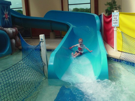 Grand Marquis Waterpark Hotel & Suites : Great Waterslides!