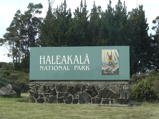 Haleakala National Park : Entrance of national park