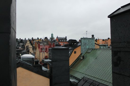 Hotel Gamla Stan: view from top floor
