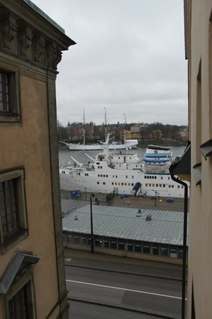 Hotel Gamla Stan: view from our room