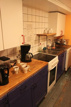 Hotel Gamla Stan: one of the kitchens....