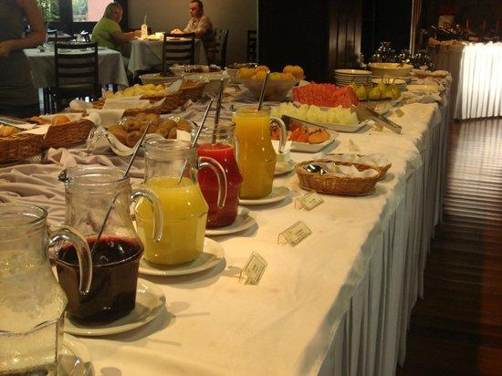 San Martin Resort & Spa: Desayuno