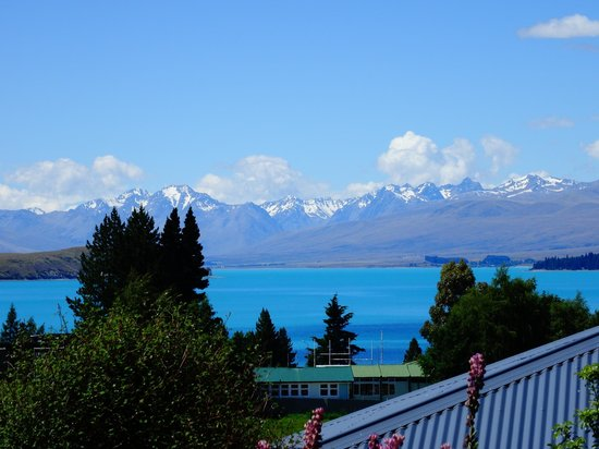 Tekapo Heights : View from the patio