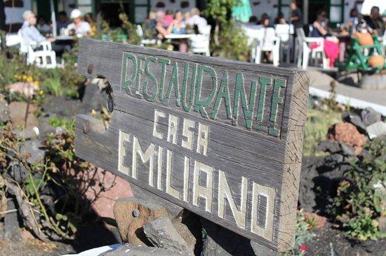 Casa Emiliano: outside