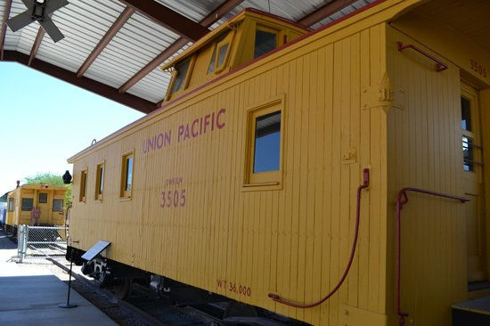 Nevada Southern Railway Excursion: Rail car in the museum
