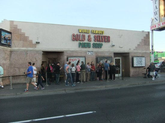 Outside picture of gold and silver pawn shop las vegas tripadvisor Easy pond shop
