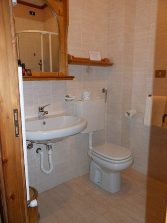 B&B Residence Checrouit: bagno
