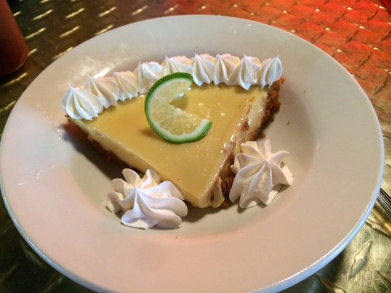One Hot Mama's American Grille : Key lime pie