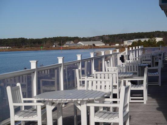 Aqua Restaurant: Outside Deck View