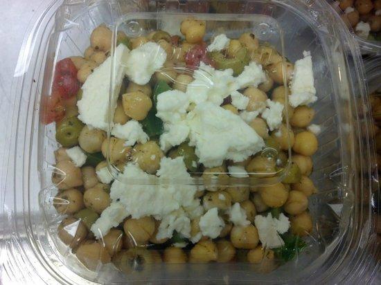 Village Food Emporium: Greek Bean Salad w/Goat Cheese