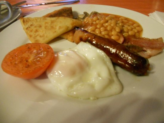 Botanic Rest: Cooked Breakfast