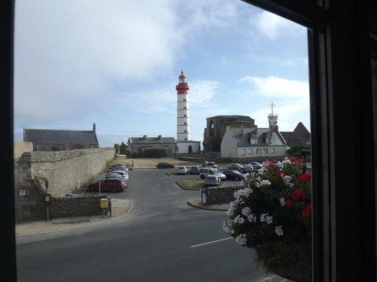 Hostellerie de la Pointe Saint-Mathieu : vue chambre