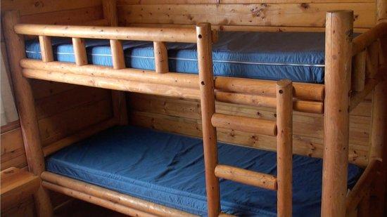 Bunk Beds In Camping Cabin Picture Of Gettysburg Battlefield Koa