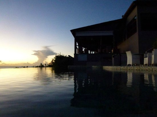 Carmichael's : The restaurant is right aside of the infinity pool. Most sunsets are spectacular.