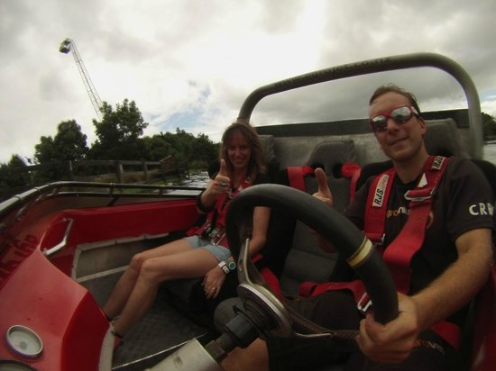 Velocity Valley: on the jet boat