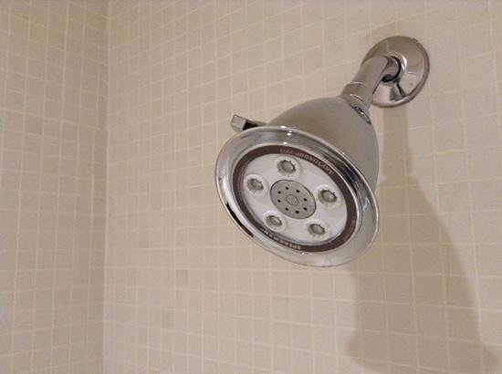Hotel St Paul: Showerhead was powerful with massage option.