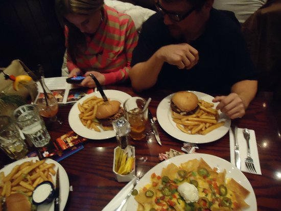 Hard Rock Cafe Rome : The food looks great, and tastes even better!