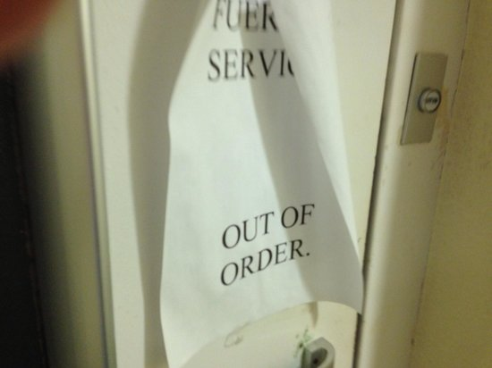 Hotel DC Xibana Park: Lift out of order whole stay