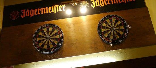 Paddy Whelan's Pub: Дартс
