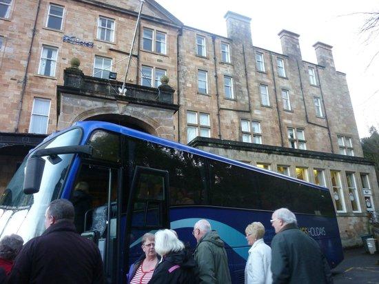 The Glenburn Hotel Ltd: coach trip
