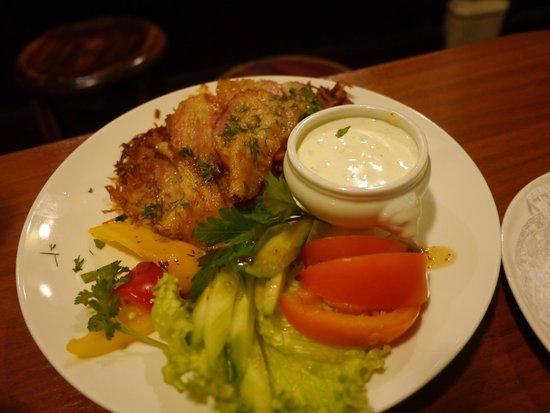 Paddy Whelan's Pub: Вкусная еда!