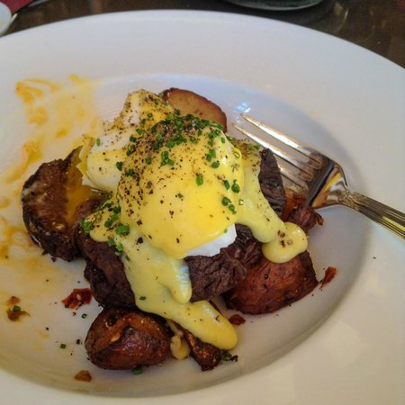 Amaya: Tenderloin Steak and Eggs Benedict