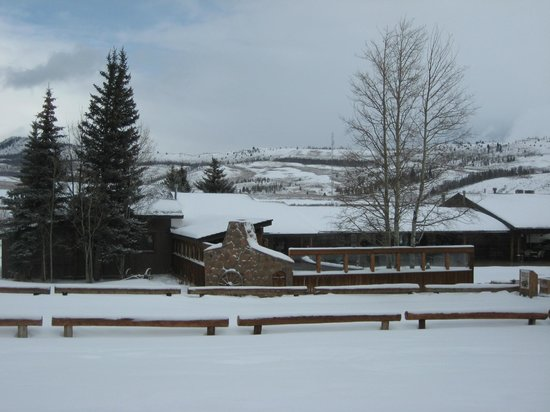 C Lazy U Ranch: View from the Lodge