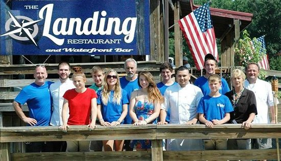 The Landing Restaurant and Waterfront Bar: Our Summer Crew 2013