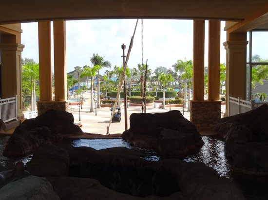 Marriott's St. Kitts Beach Club: From the lobby
